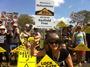 Mullumbimby Gas Field Signs Are Officially Launched