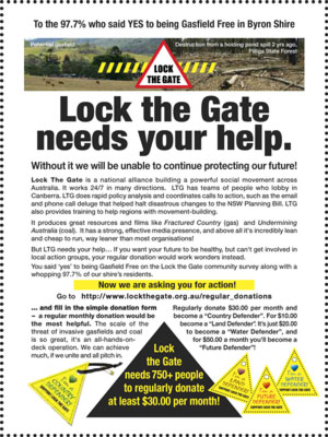 Lock The Gate Needs Your Help